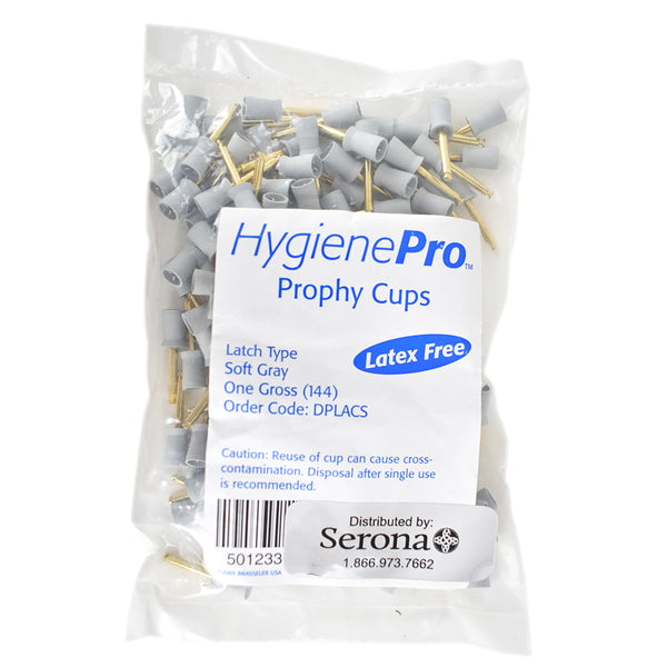 Shop online for the veterinary dental Brasseler RA Latch Type Prophy Cups, which are soft as well as latex free. Available for purchase online at Serona.ca.