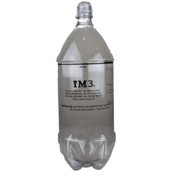 iM3 Clear Coolant Bottle