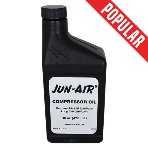 Shop online for the veterinary dental JUN-Air® SJ 27 Synthetic Compressor Oil - 500ml bottle. Suitable for use in all Inovadent and Vetsonics dental carts.