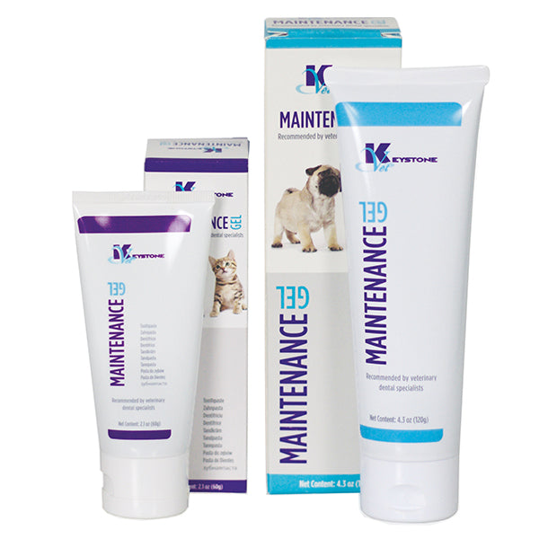 Shop online today at Serona.ca for the veterinary dental Keystone Vet Dental Maintenance Gel w/ Zinc Gluconate, available for purchase in 60 and 120 grams.