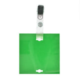 "Veterinary dental Write-Boards™ Cage Tags - 3"" x 3"" in green."