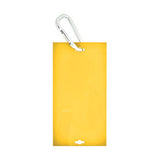 "Veterinary dental Write-Boards™ Cage Tags - 3"" x 6"" in yellow."