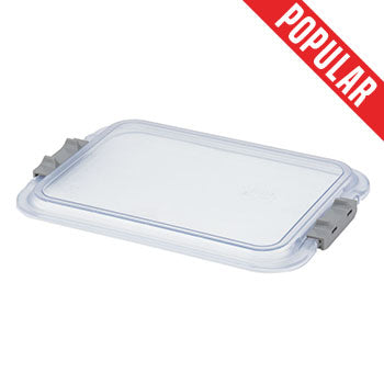 "Shop online at Serona.ca for the veterinary dental Zirc Mini Tray Cover, which is clear and also locking. The mini tray dimensions are: 9-7/8"" x 6-5/8"" x 1""."