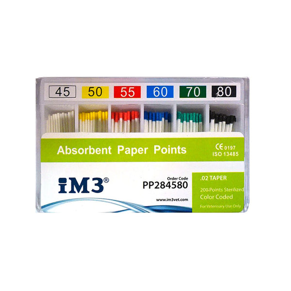 Paper Points - 28mm - ISO 45-80 - 200pcs