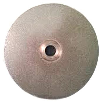"Veterinary dental Serona Animal Health Diamond Honing Disk (D shaft), 400 grit, 51mm (2""), used for sharpening dull/damaged instruments."