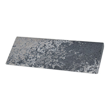 Shop online for the veterinary dental iM3 Arkansas Wedge Dental Sharpening stone, 100mm (4'') x 3. The stone has a flat surface with a radius on either side.