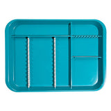 Shop online at Serona.ca for the veterinary dental Zirc B-Lock Antimicrobial Divided Tray (holds 12 instruments), available for sale in a variety of colours.