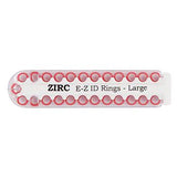 EZ ID Ring Pack (25/pkg)