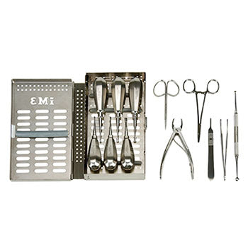 Shop online for a large selection of iM3 veterinary dental instrument kits including elevator and luxating type kits, prophy kits, extraction kits, feline and canine specific kits, and more.