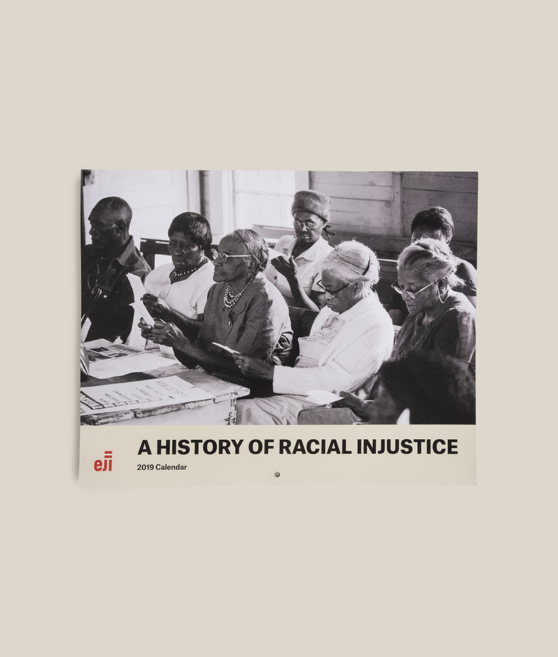 A History of Racial Injustice Calendar 2019