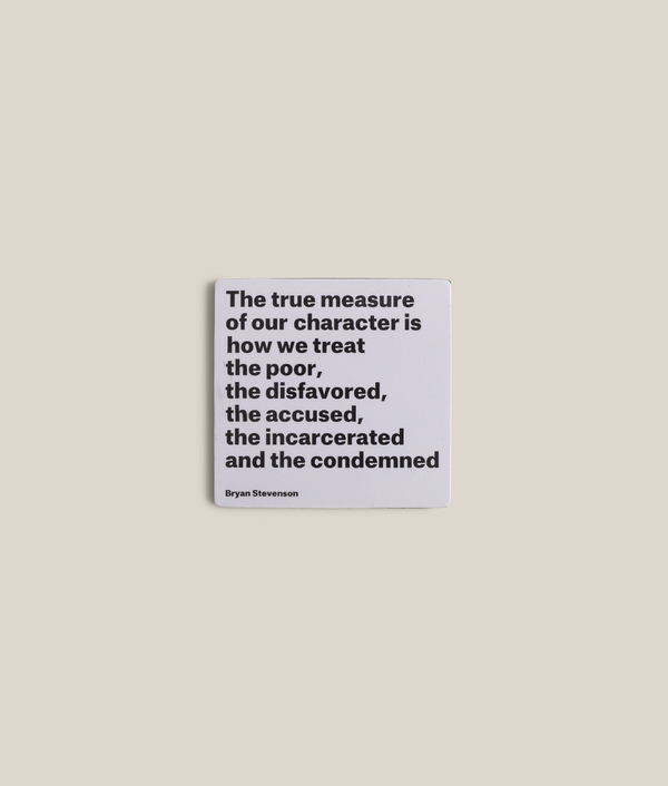 """True Measure"" Quote Magnet"