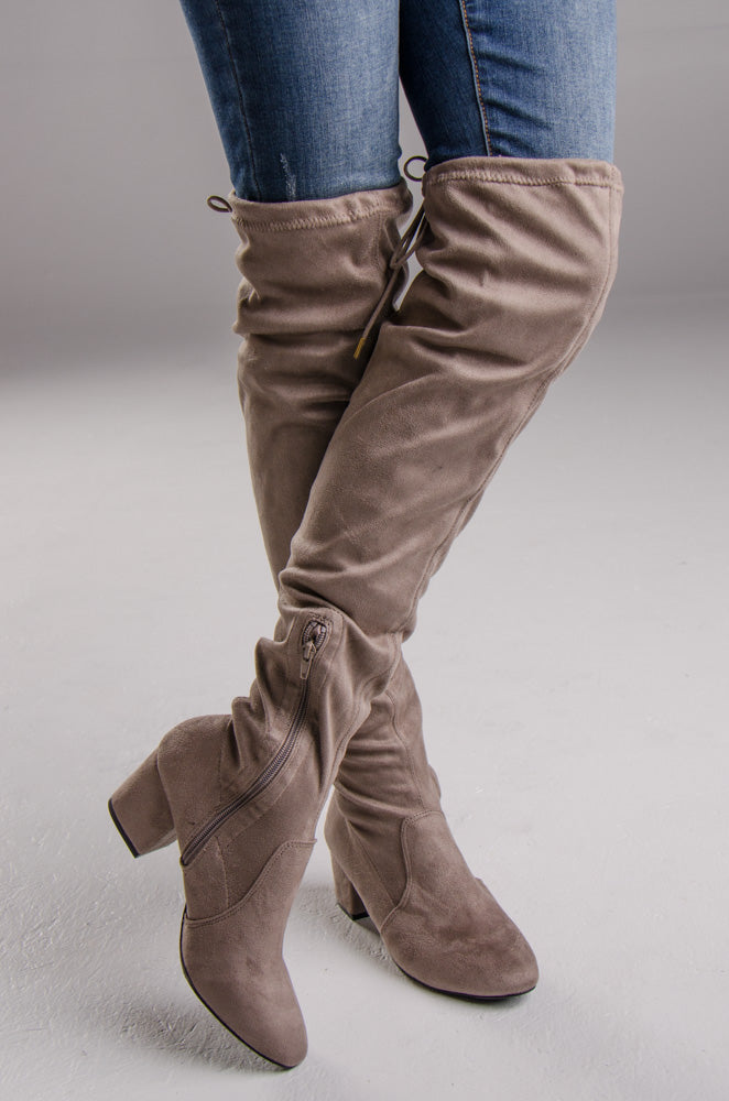 Skipper Boot Taupe