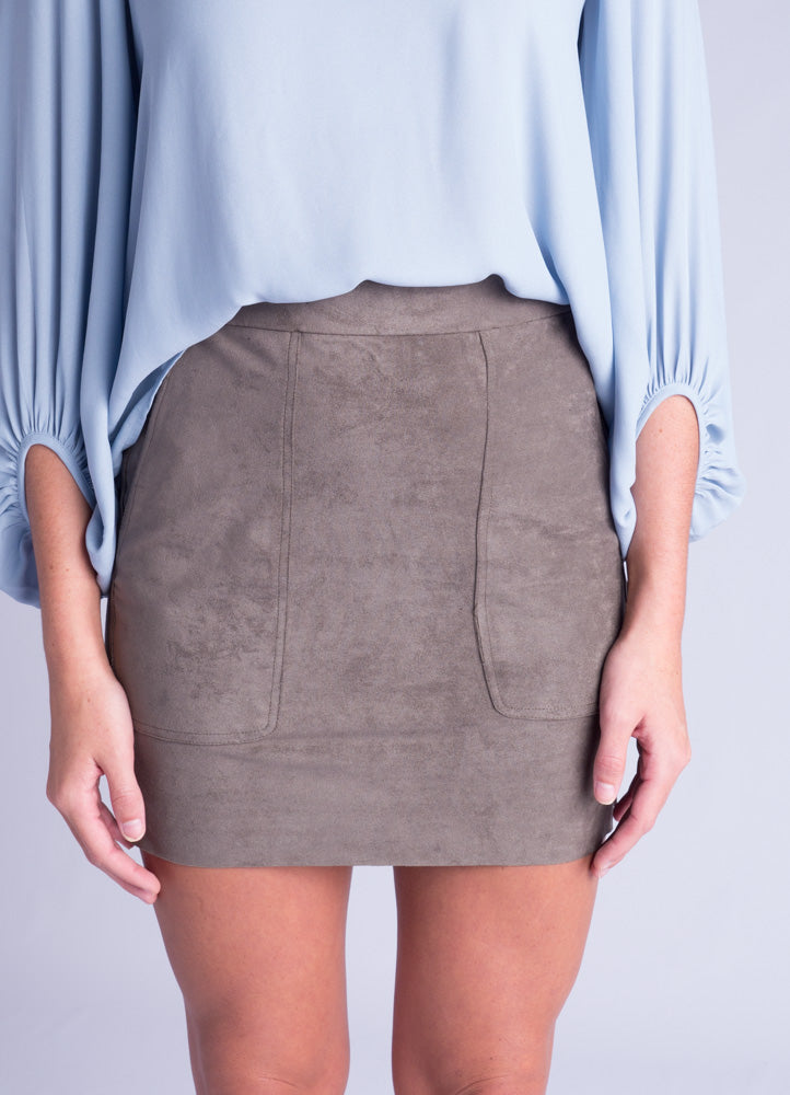 Smokey Grey Skirt