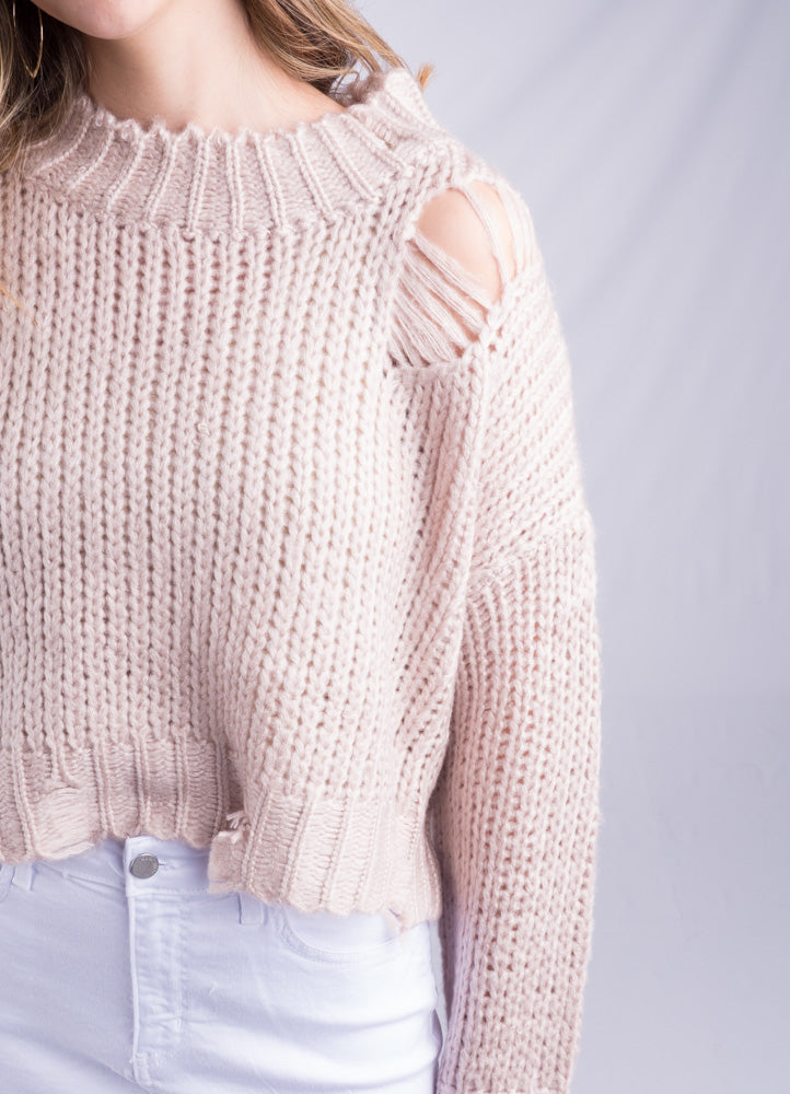 Holy Blush Sweater