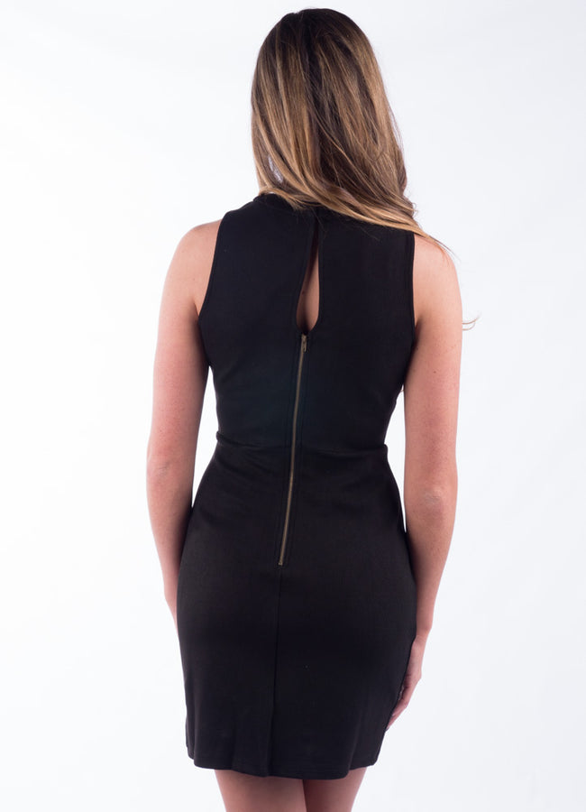 Statement Black Dress