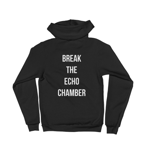 Break the Echo Chamber Hoodie (Rare Talk Edition)