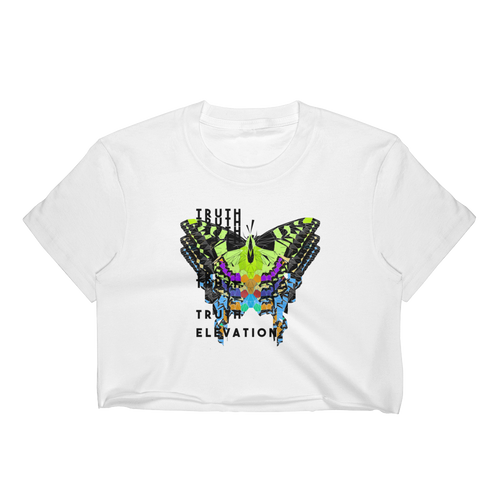 Truth Elevation Crop Top (Butterfly Metamorphosis)