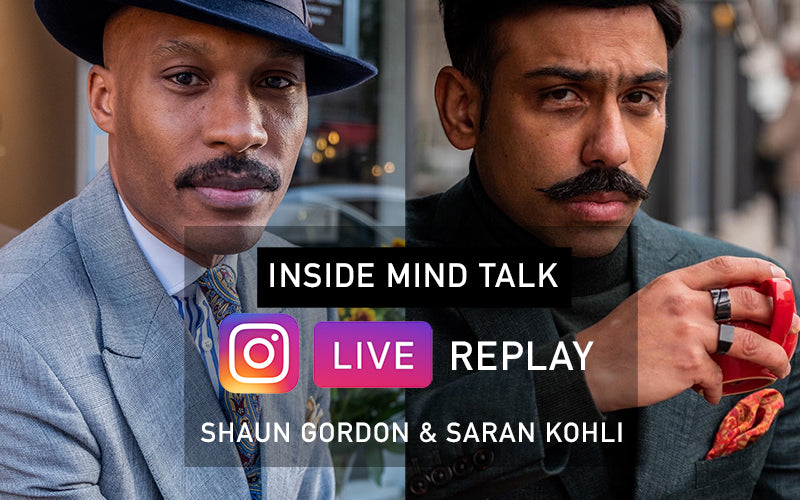 Instagram Live Replay | Inside Mind Talk With Shaun Gordon & Saran Kohli