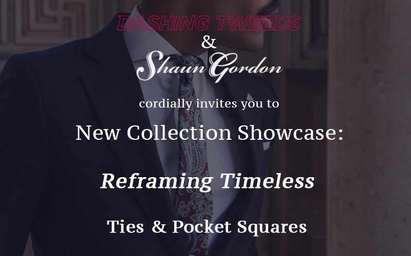 Invitation To New Collection Showcase: Reframing Timeless