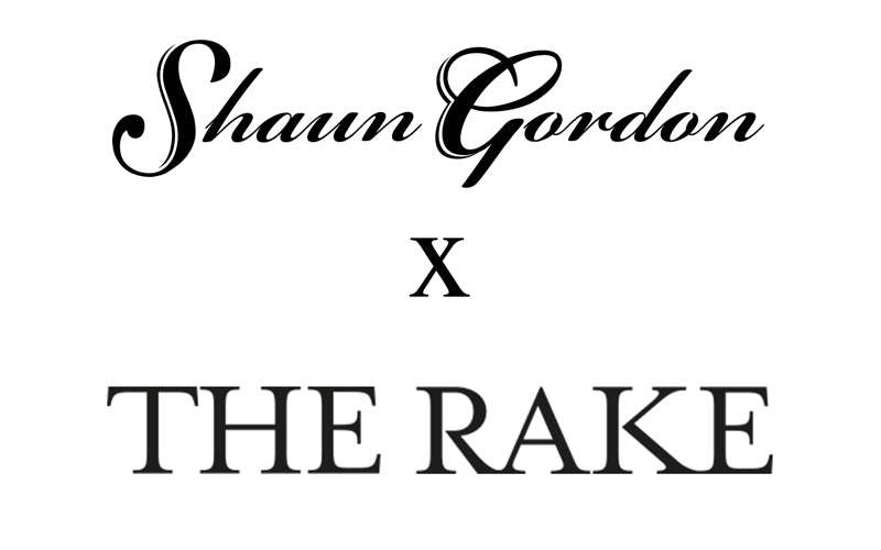 BREAKING NEWS: Shaun Gordon X THE RAKE Exclusive Made To Order Ties