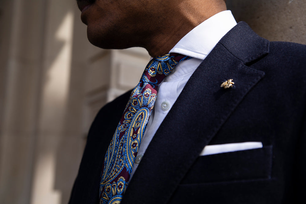 Finishing Touches With The Quinton Paisley Ties