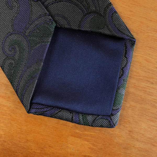 The best thing about made to order ties is calling the shots on the details that suits you and makes your necktie unique to your personal taste. This is the special part about made to order as you can tailor the tie to how you really want it, such as the width, length, tipping style, colour of the bullion and much more.