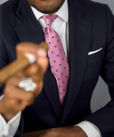 Shaun Gordon Anton Pink Hand Crafted Tie
