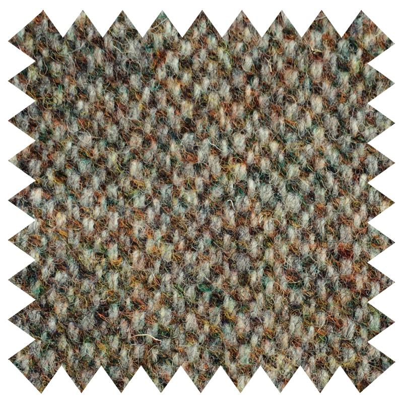 SHAUN GORDON LIGHT GREEN DONEGAL WOOL FABRIC