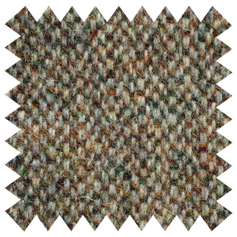 015 LIGHT GREEN DONEGAL WOOL FABRIC