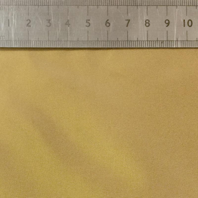 020 PALE GOLD YELLOW SILK FABRIC Made To Order Fabrics Shaun Gordon