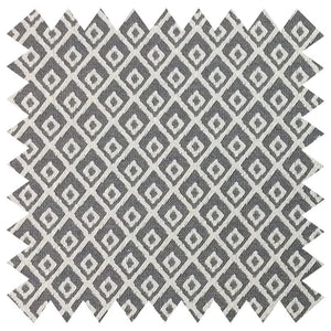 025 GREY DIAMOND GRID PATTERN SILK FABRIC Made To Order Fabrics Shaun Gordon