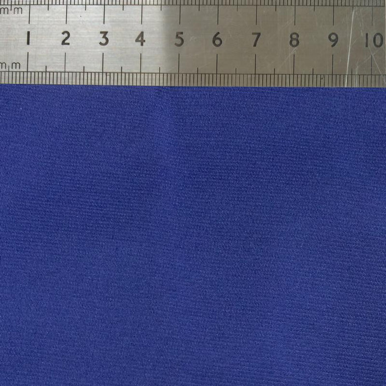027 SOLID BLUE SILK FABRIC Made To Order Fabrics Shaun Gordon