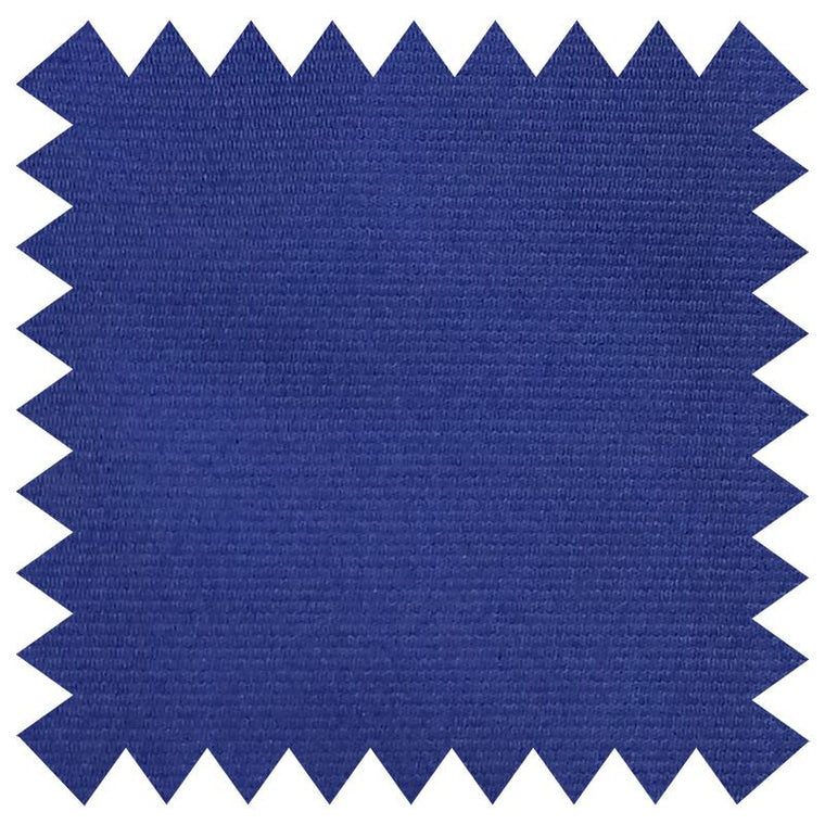 027 SOLID BLUE SILK FABRIC