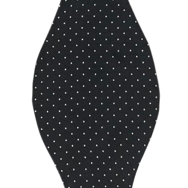 REGENT BLACK AND WHITE PIN SPOTS BOW TIE Bow Ties Shaun Gordon