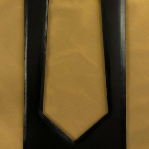 020 PALE GOLD YELLOW SILK MADE TO ORDER TIE