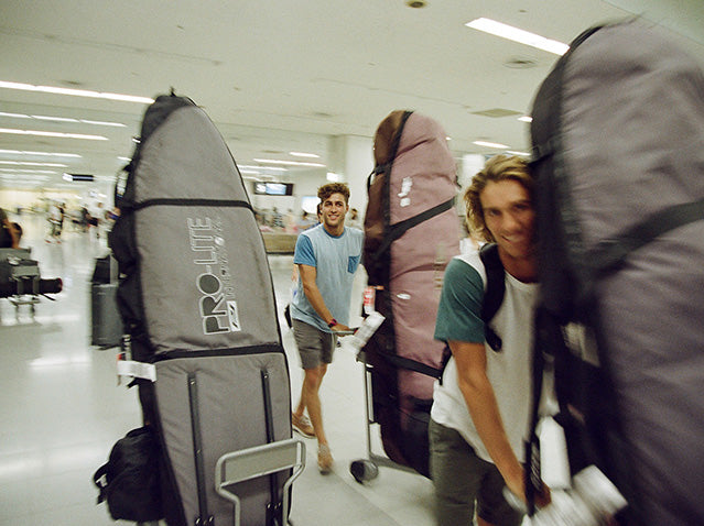 Major Airlines Adjust Surfboard Travel Bag Policy
