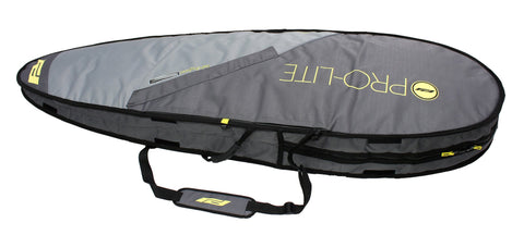 Pro-Lite Rhino fish/hybrid surfboard travel bag-two board setup.