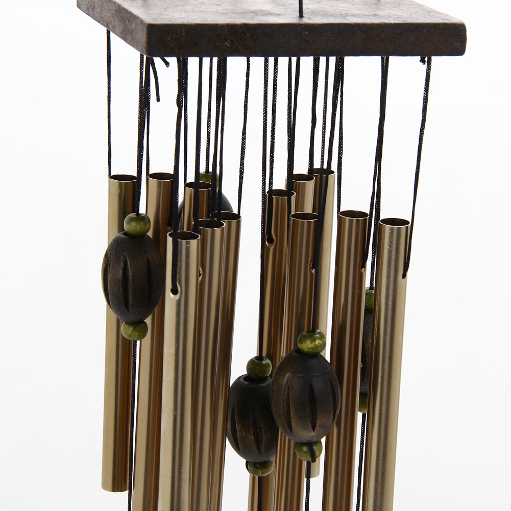 12 Tube Fengshui Sailboat Wind Chimes | Ego-Silencer