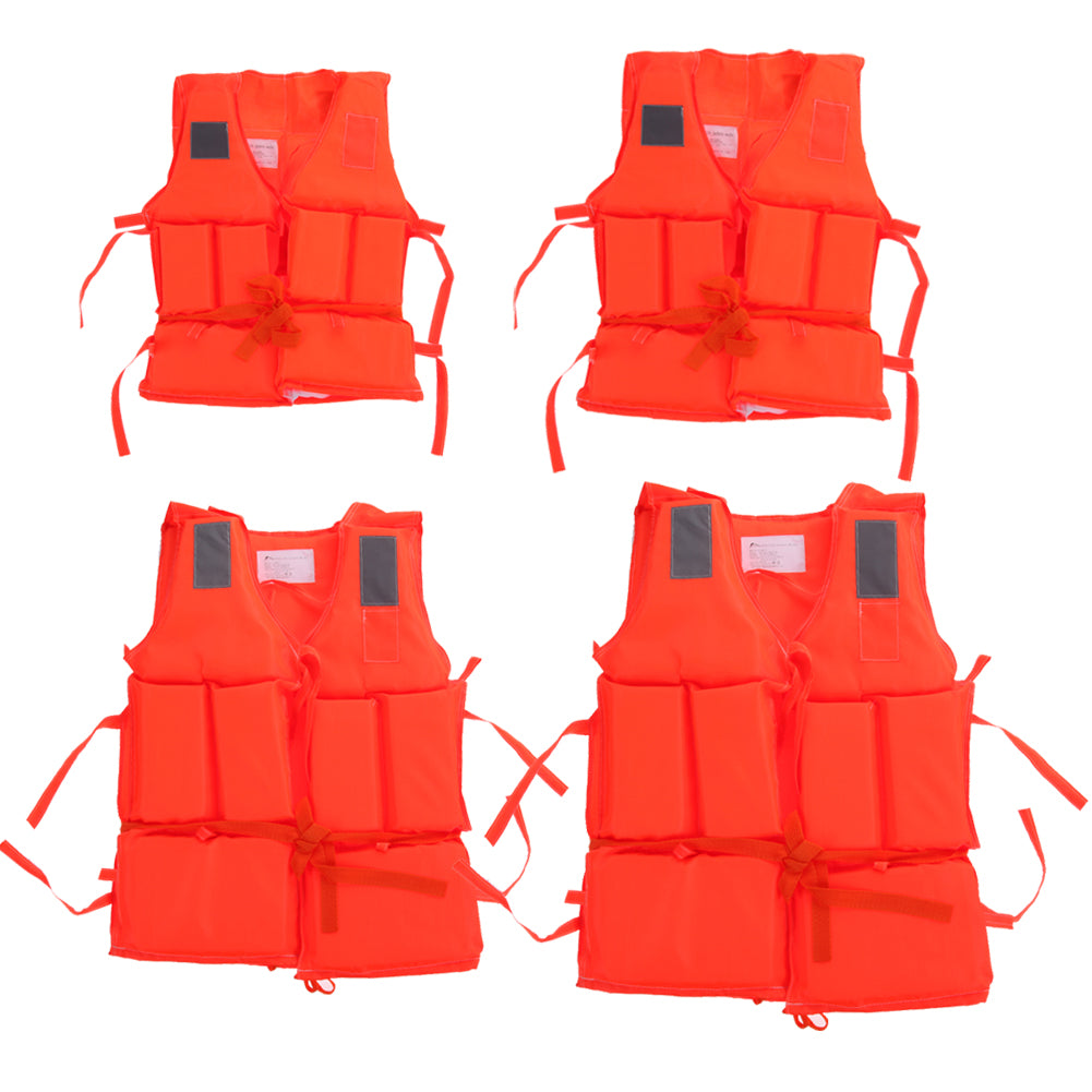 Kids & Adult Life Vest With Survival Whistle | Ego-Silencer
