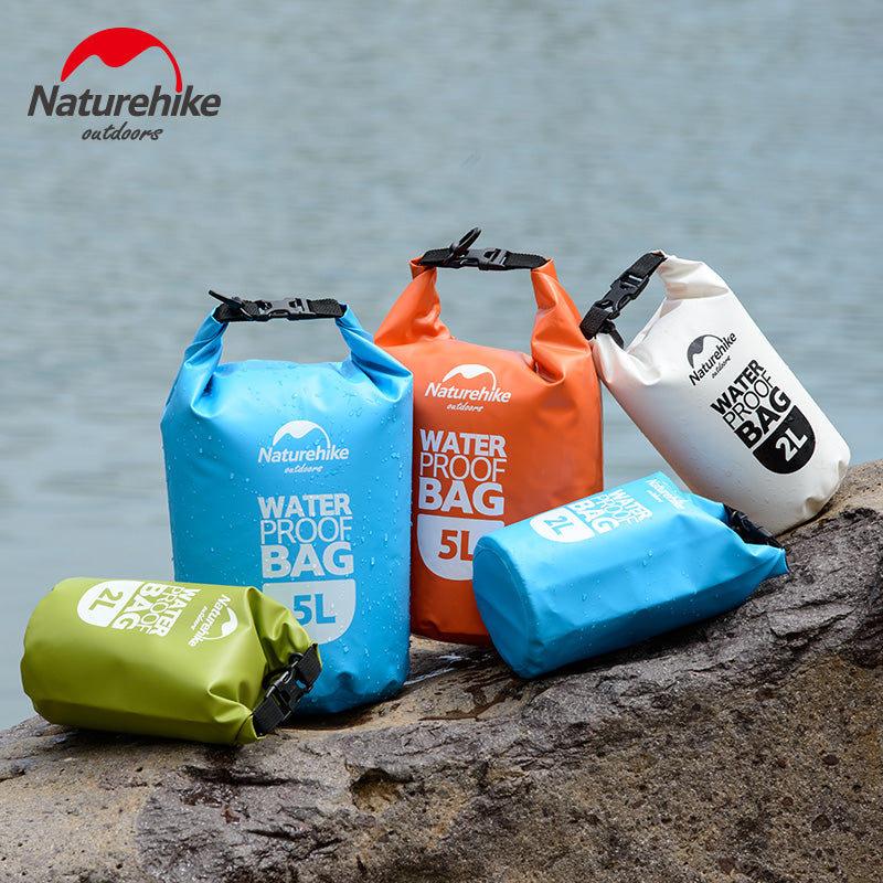 Portable Waterproof Storage Bags for Canoe Rafting 2L 5L | Ego-Silencer