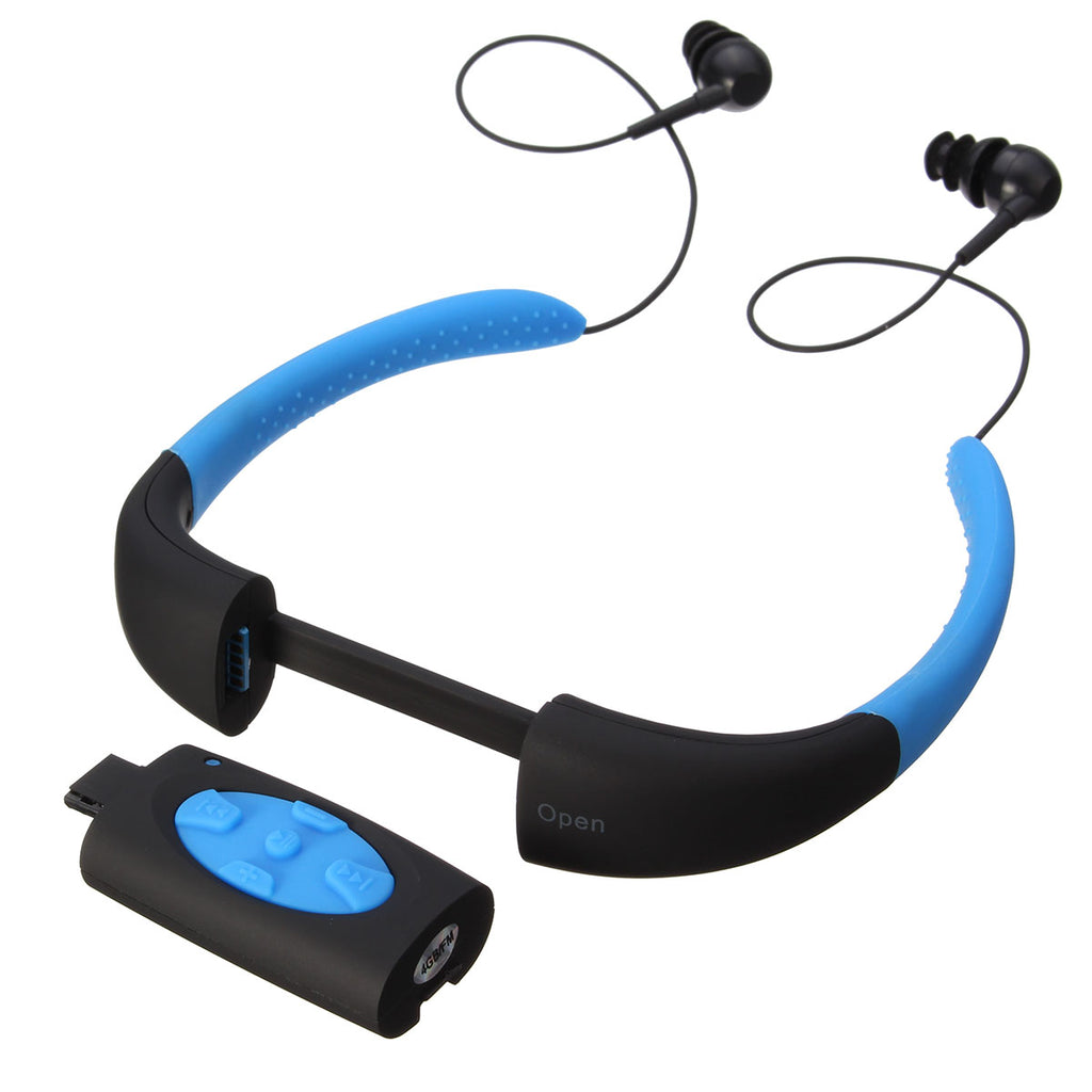 Waterproof MP3 Player Headset with Built in 4GB Memory | Ego-Silencer