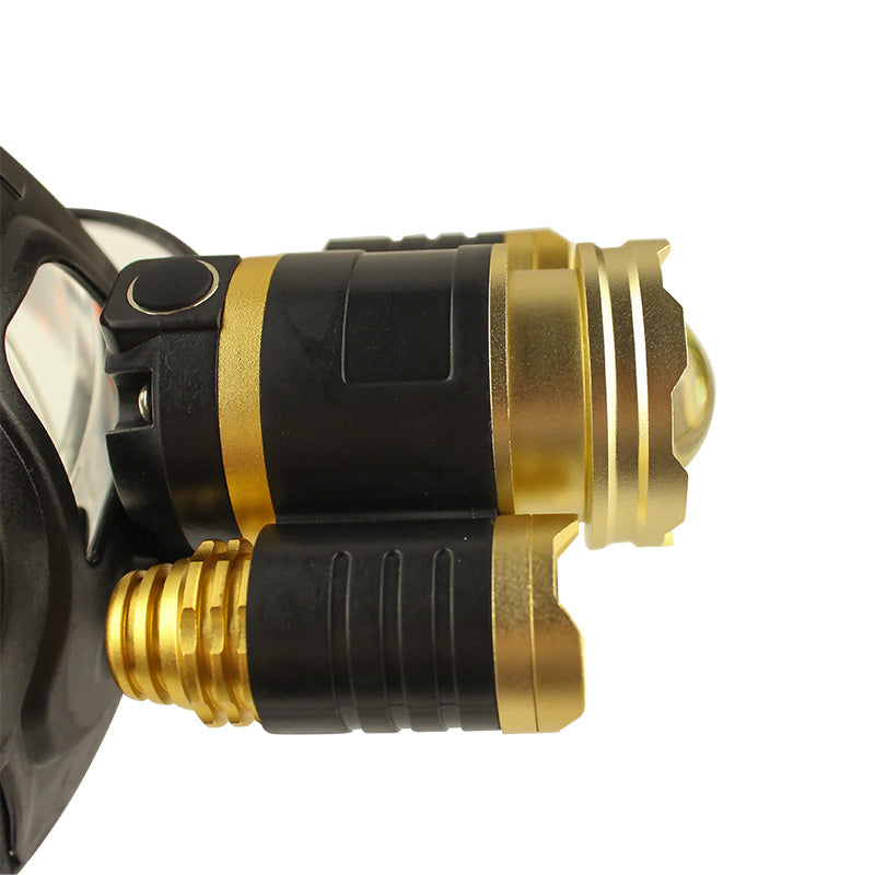 LED 3T6 Waterproof Headlight | Ego-Silencer