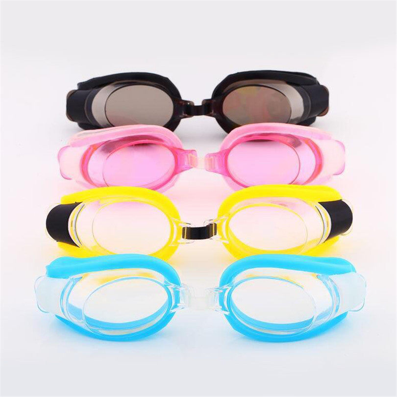 Children's Swimming Adjustable Waterproof Anti Fog Goggles, Ear Plugs & Nose Clips | Ego-Silencer