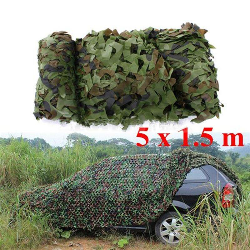5M x 1.5M Outdoor Sun Shelter Net CAMOUFLAGE Tarp | Ego-Silencer