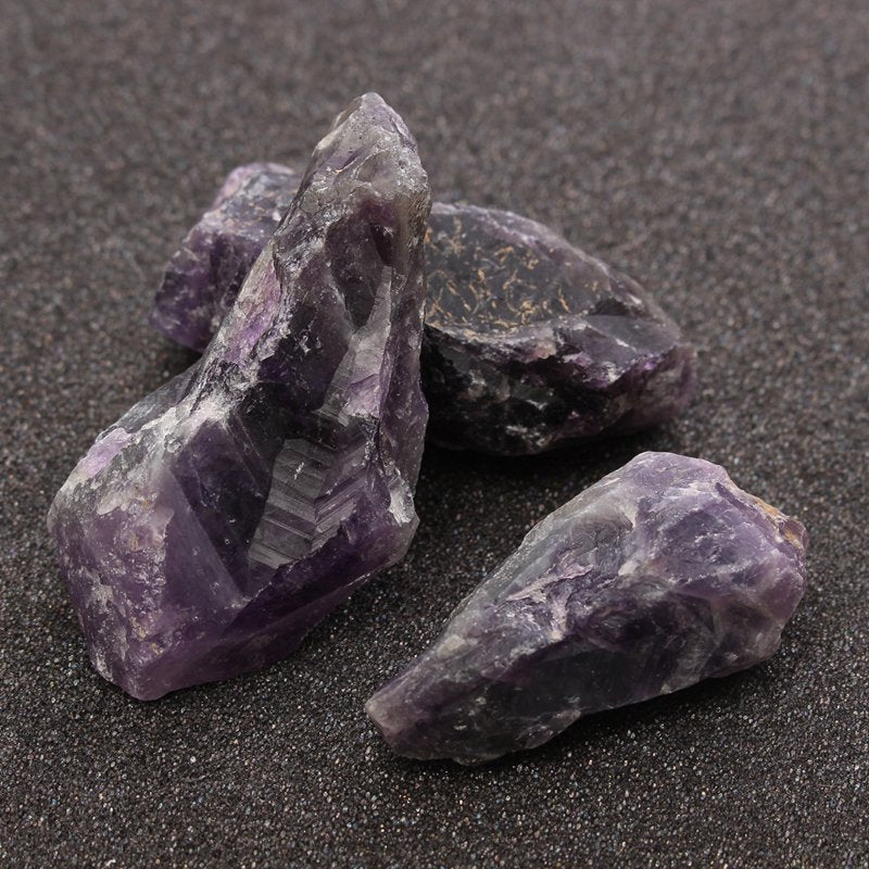 100g Natural Purple Amethyst Quartz Crystal Healing Stones  | Ego-Silencer