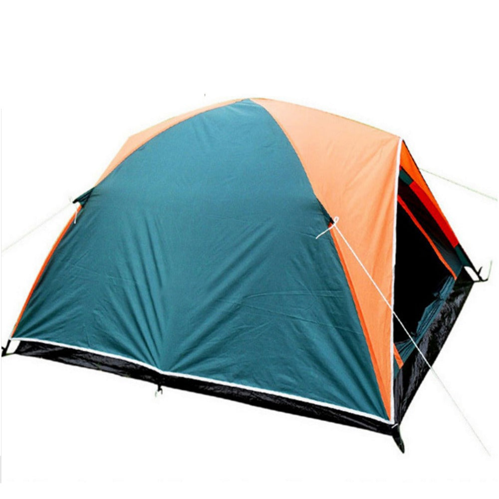 2017 Double Layer 3 4 Person Rainproof Outdoor Camping Tent | Ego-Silencer