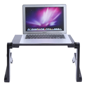 Adjustable Portable Laptop Table Stand | Ego-Silencer