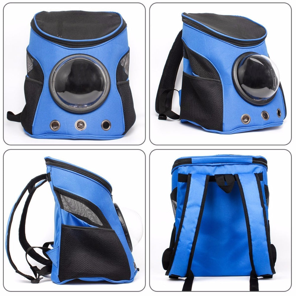 Space Capsule Shaped Pet Travel Shoulder Backpack | Ego-Silencer