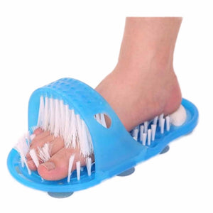 1PCS Blue Foot Massage Shower Foot Scrubber