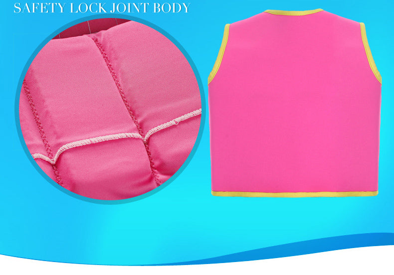 2-6 Years Baby Float Swim Trainer Boy Girl Buoyancy Life jacket Swimming 2 Colors | Ego-Silencer